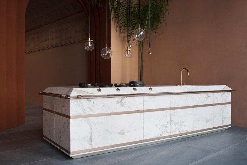 01 fendi cucine ginger designed by marco costanzi durini global view